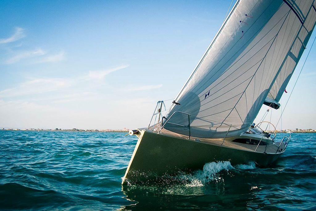 préparation de voilier  projet mer